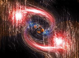 Swirling lights wallpaper by BigA-nt