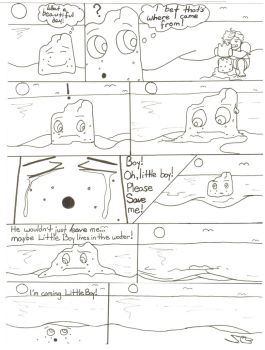 Existential Sandcastle by bitter-sweetie