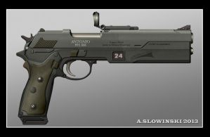 Lowenklaue Antonio 991 M6 Pistol by BlackDonner