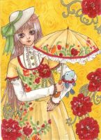 ACEO: Kobato-chan by IvoryPeony