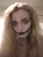 More skull makeup by EloiseS16