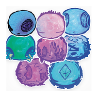 New Stickers + 20% off all stickers! by Kabiscube