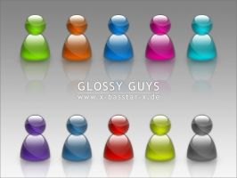 Glossy Guys by basstar