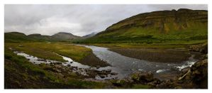 North-West Iceland Creek by facehead