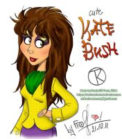 Cute Kate Bush by dashassfrost
