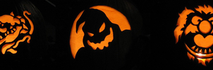 Jack O Lanterns 2010 by DinoHunter2
