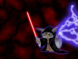 Sith Master Yoda by solid-snake-587