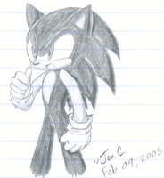Sonic the Hedgehog by Jen-C