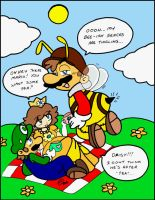 Mario: The Birds and the Bees by NatSilva