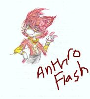Anthro Flash by FlashnTails