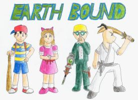 Earthbound drawing by Bob-owe