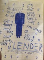 Slenderman by xxdarkrosex