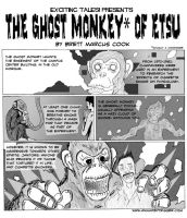 The Ghost Monkey of ETSU by bretterson