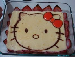 Hello Kitty Cheesecake by luzzy