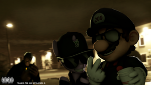 (SFM) 5AM In Cali by MarioT209