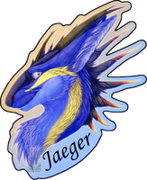 Personal - Jaeger's Feral Badge by TwilightSaint