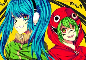 Matryoshka by CaptainStrawberry