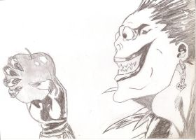 Ryuk Death Note by BakaEngland