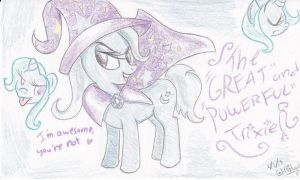 The Not So Great and Powerful Trixie by Artizluv