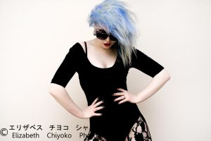 Sweet Tart Blue 3 by ElizabethChiyoko