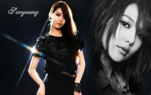 Wall SNSD Soyoung elegance ver by RainboWxMikA