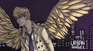 Urban Angel banner by zeldafan-11
