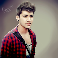 Zayn Malik. 1D project by ChocoWay
