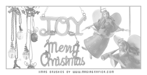 Christmas brushes by Magiagrafica