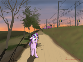 Wandering in lonely by orang111