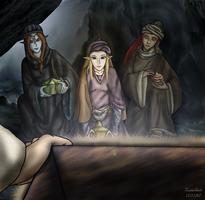 Three Wise Women by ZerachielAmora