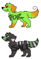 Doggy adopts by MikeyOpossum