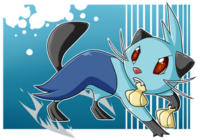 Didge the Dewott by Nestly