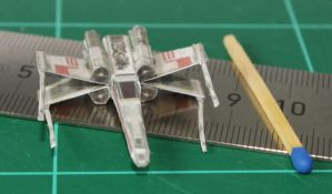 X-Wing - Star Wars miniature by SarienSpiderDroid