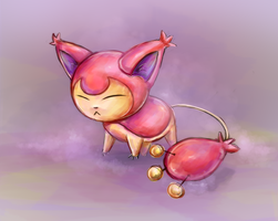 Skitty by MunaDrake