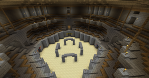 Minecraft: Manasia - Fortress City Arena 4 by Denis-Manase