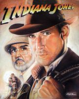 Indiana Jones and The Last Crusade by Polonx
