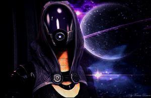 Mass effect 3 Tali by Demon551