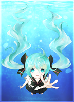 Bottle Miku by Rainry