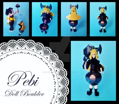 'Pebi' - Doll Boulder by GoldenArpeggio