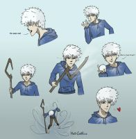 Jack Frost Doodles by Hot-Gothics