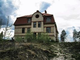 The house on the hill by Ludde08