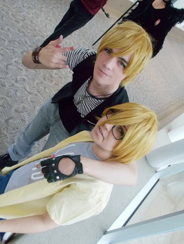 LOVE STAGE!! Shougo and Izumi Cosplay by NipahCos
