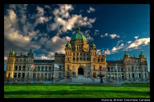 Legislature - Postcard by BlackScarletLove