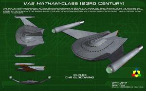 Vas Hatham class [23rd Century] ortho [new] by unusualsuspex
