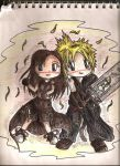 Cloud n Tifa CHibi AC by Kiome-Yasha