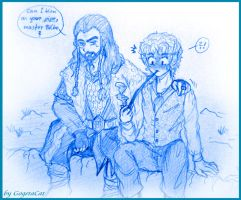 Thilbo - Can I blow your pipe, master Bilbo? by XxGogetaCatxX