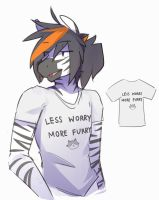 less worry more furry by Keponii
