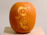 Luigi's Mansion Pumpkin 2 by ceemdee