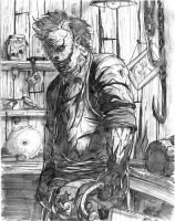 Leatherface by WithLime