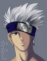 Kakashi. by surrealecho